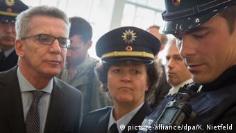 Bundesinnenminister Thomas de Maiziere, CDU (foto: dpa)
