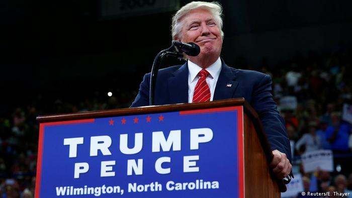 USA Republikaner Donald Trump in Wilmington