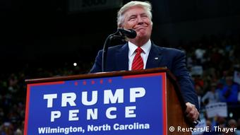 USA Republikaner Donald Trump in Wilmington