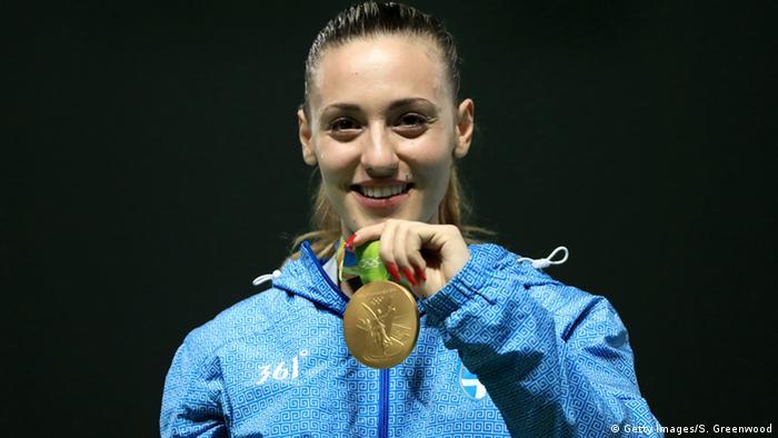 Brasilien Olympische Spiele in Rio - Sportschützin Anna Korakaki