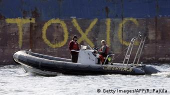 Containerschiff Probo Koala (Getty Images/AFP/R. Pajula)