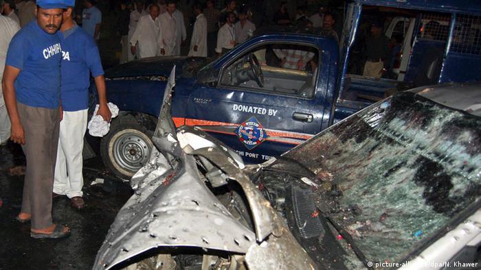 Pakistan Karatschi Bombenanschlag mit 139 Toten