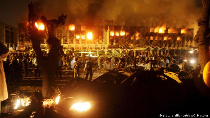 Pakistan Islamabad Marriot Hotel Bombenanschlag mit 60 Toten