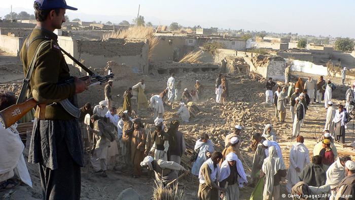 Pakistan Bannu Bombenanschlag bei Volleyballspiel mit 101 Toten