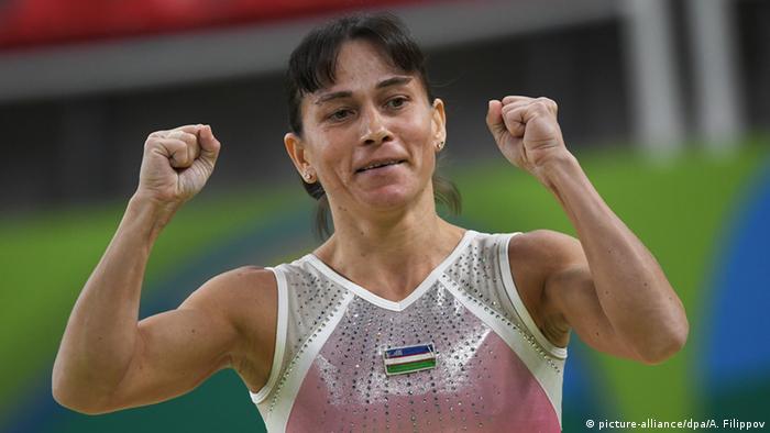 Rio 2016 Oksana Chusovitina