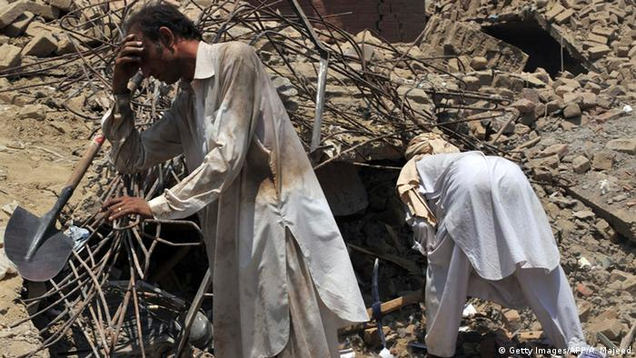 Pakistan Mohmand Bombenanschlag auf Markt mit 105 Toten