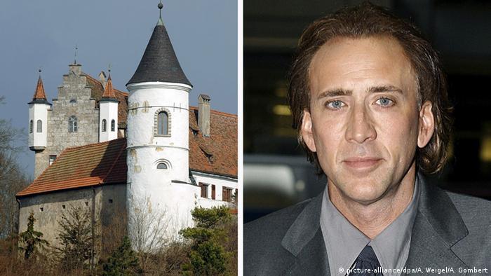 Bayern Schloss Neidstein Kombo Besitzer Schauspieler Nicolas Cage (picture-alliance/dpa/A. Weigel/A. Gombert)