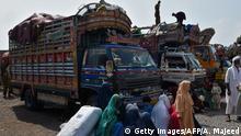 Pakistan Afghanistan Flüchtlinge kehren zurück