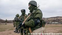 Symbolbild Moskau verhindert angeblich ukrainischen Terror-Anschlag auf der Krim