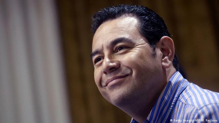 Guatemala Jimmy Morales (Getty Images/AFP/M. Recinos)
