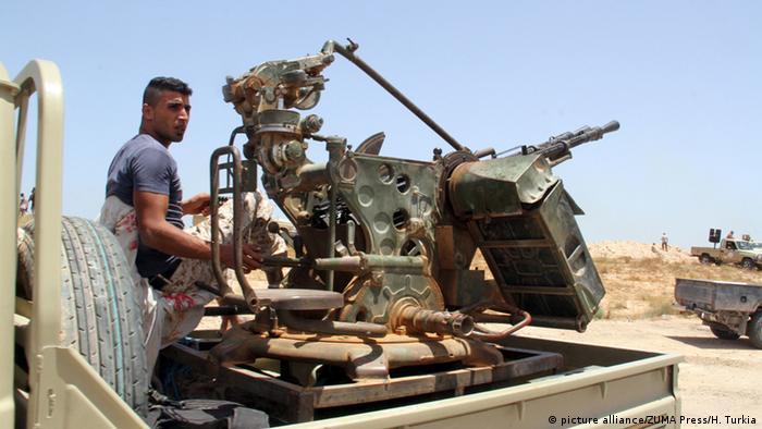 Libyen Sirte Kampf gegen IS