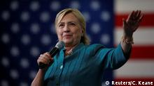 US Wahlen Hillary Clinton in Iowa