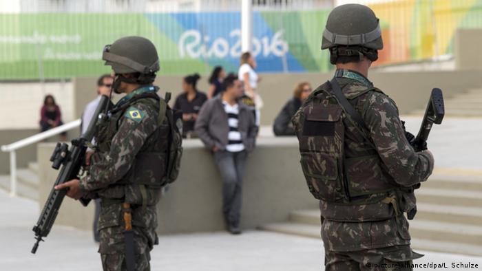 Brasilien Rio 2016 Sicherheitskräfte