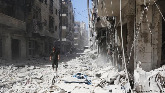 Syrien Aleppo Zerstörung