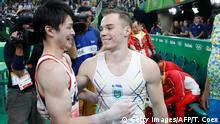 Rio Momente 10 08 Gymnastik Kohei Uchimura Japan