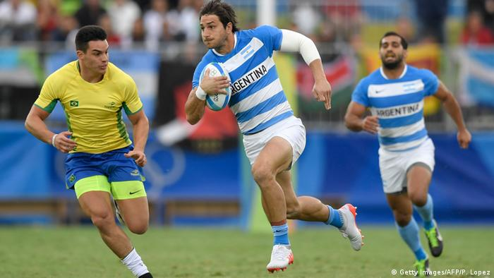 Rio Momente 10 08 Rugby Brasilien Argentinien
