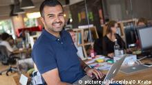 Der türkischstämmige Unternehmer Eyüp Aramaz in Deutschland