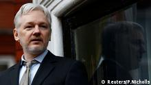 Julian Assange London Großbritannien