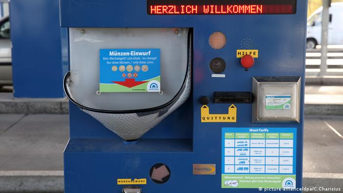 Toll Collect Terminal