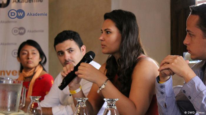 Teilnehmer des Mediendialogs DW Akademie