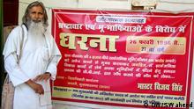 Vijay Singh Kampf gegen Korruption und Mafia in Indien