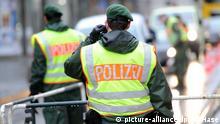 Symbolbild Innere Sicherheit Polizeikontrolle