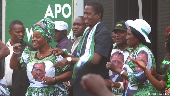 Zambian Wahlen (DW/C.Mwakideu)