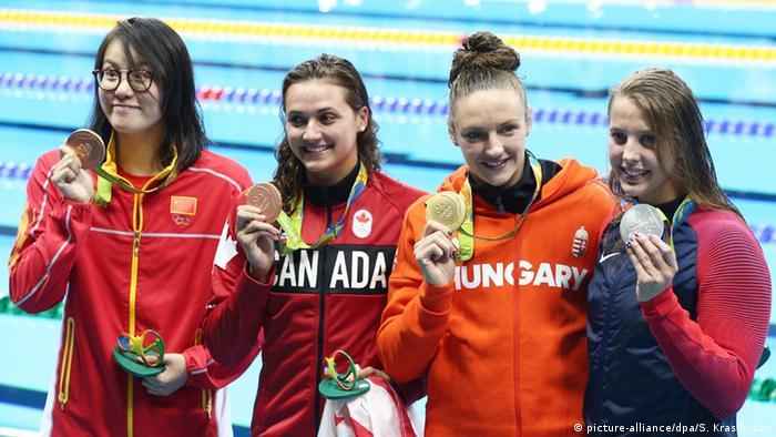 Rio 2016 China Schwimmerin Fu Yuanhui