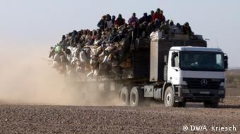 Niger Konvoi in Agadez