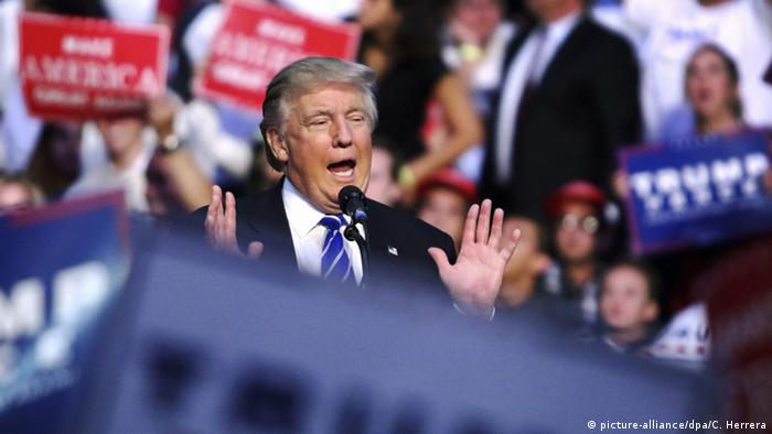 USA - Donald Trump - Rede im BB&T Center in Florida