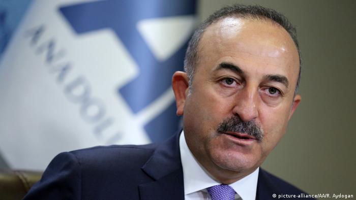 Türkei Ankara Außenminister Mevlut Cavusoglu