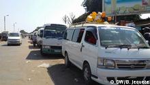 Mosambik Sammeltaxi in Chimoio