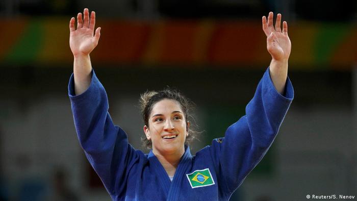 Rio Momente 11 08 Judoka Mayra Aguiar Brasilien