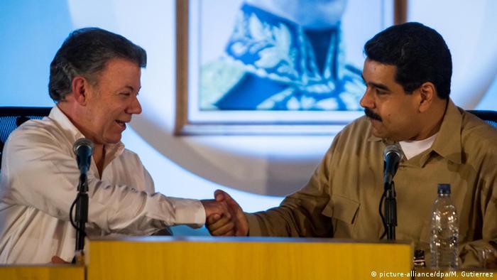 Venezuela e Colômbia decidem reabrir fronteira