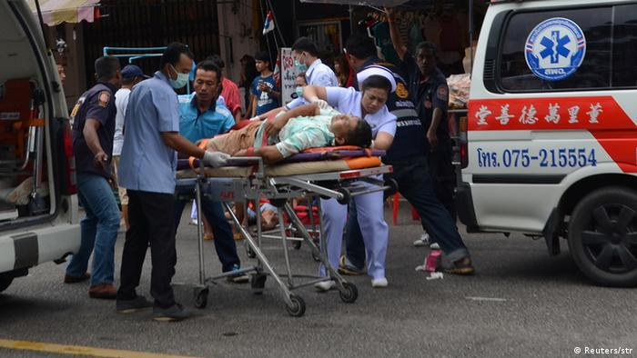 Thailand Anschläge Trang