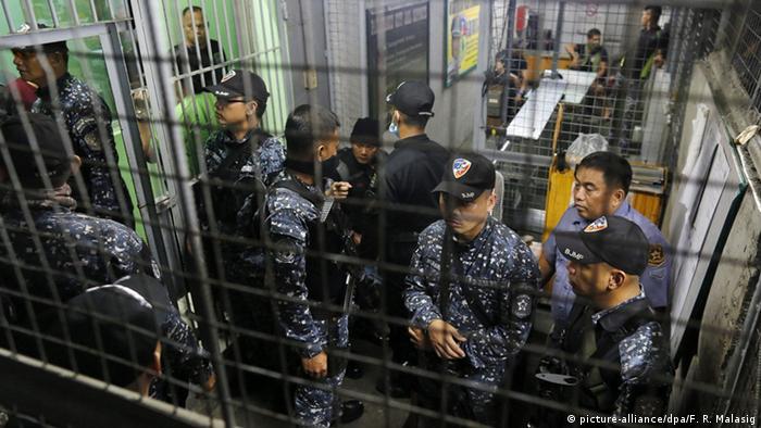 Philippinen Paranaque Gefängniswächter