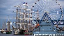 Deutschland Rostock Historische Segelschiffe
