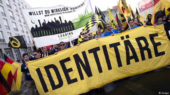 Identitäre Bewegung Deutschland Symbol Berlin