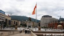 08.2016 Zentrum von Skopje (Mazedonien); Copyright: DW/P. Stojanovski