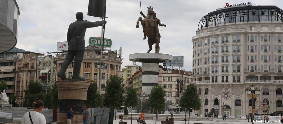 Στα Σκόπια ονειρεύονται την Ευρώπη