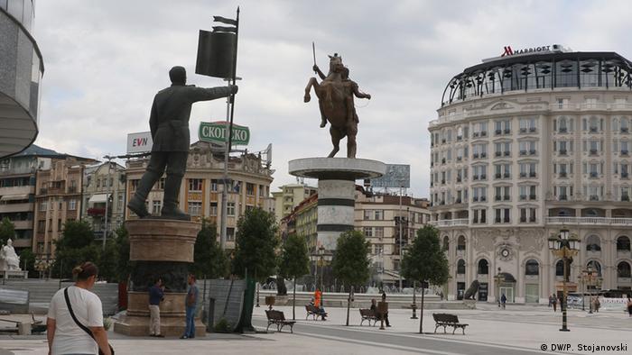 Mazedonien Skopje (DW/P. Stojanovski)