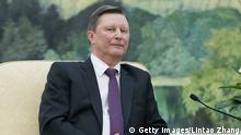 Peking Sergei Borissowitsch Iwanow Chef der russischen Präsidialverwaltung