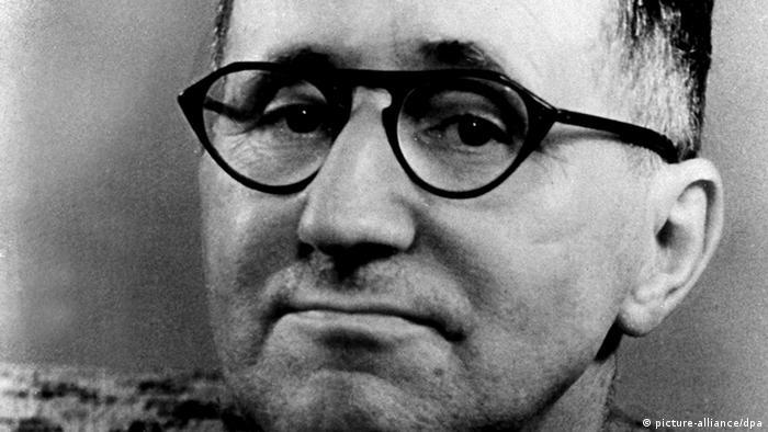 Bertolt Brecht Porträt