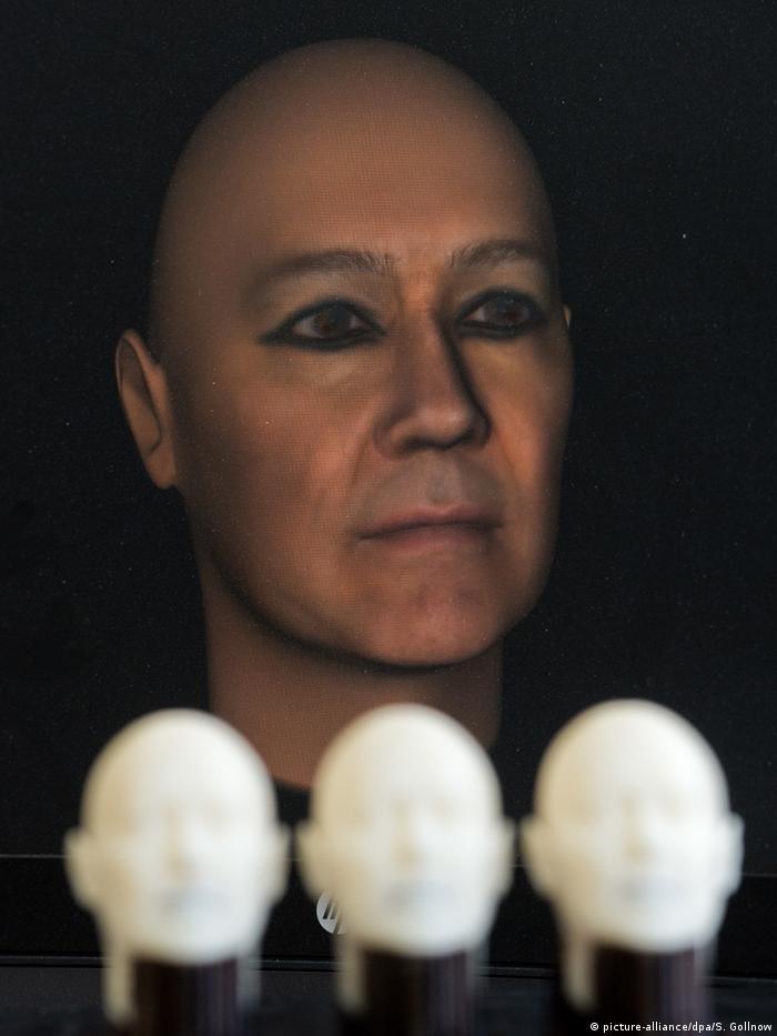В Германии оживили лицо мумии из древнего Египта