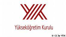 Symbol, Illustration, Logo von Yüksekögretim Kurulu, Türkischer Hochschulrat YÖK CC by YÖK https://de.wikipedia.org/wiki/Hochschulrat_(T%C3%BCrkei) Bildrechte: gemeinfrei