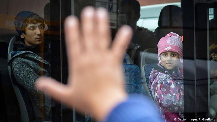 München Ankunft der Flüchtlinge im Herbst 2015 (Getty Images/P. Guelland)