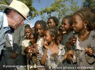 Interesse pela África: presidente Horst Köhler