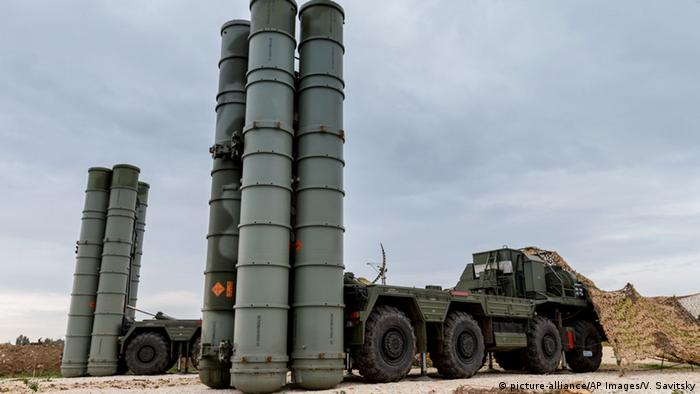 Russian-made S-400 missile
