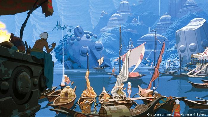 Atlântida teria sido uma cidade magnífica na Antiguidade