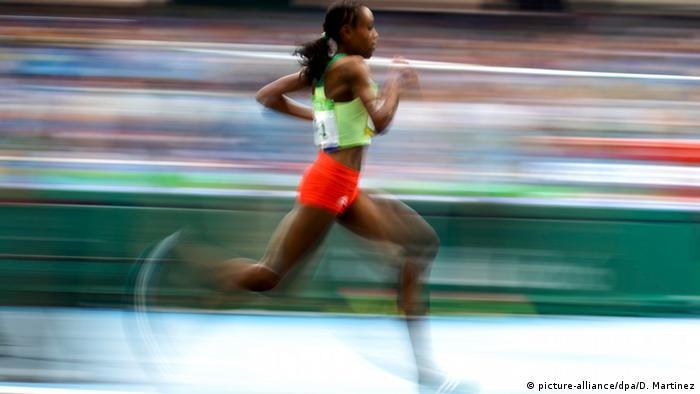 Brasilien Olympische Spiele in Rio - Läuferin Almaz Ayana